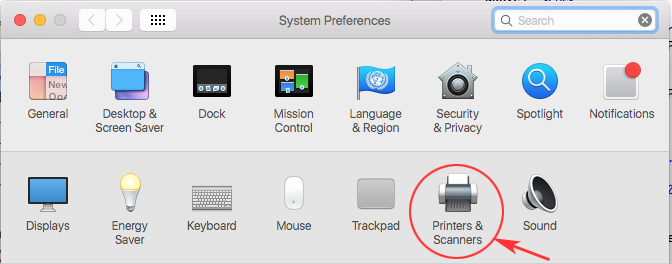 Remove Mac Wireless Open Printers & Scanners Preferences
